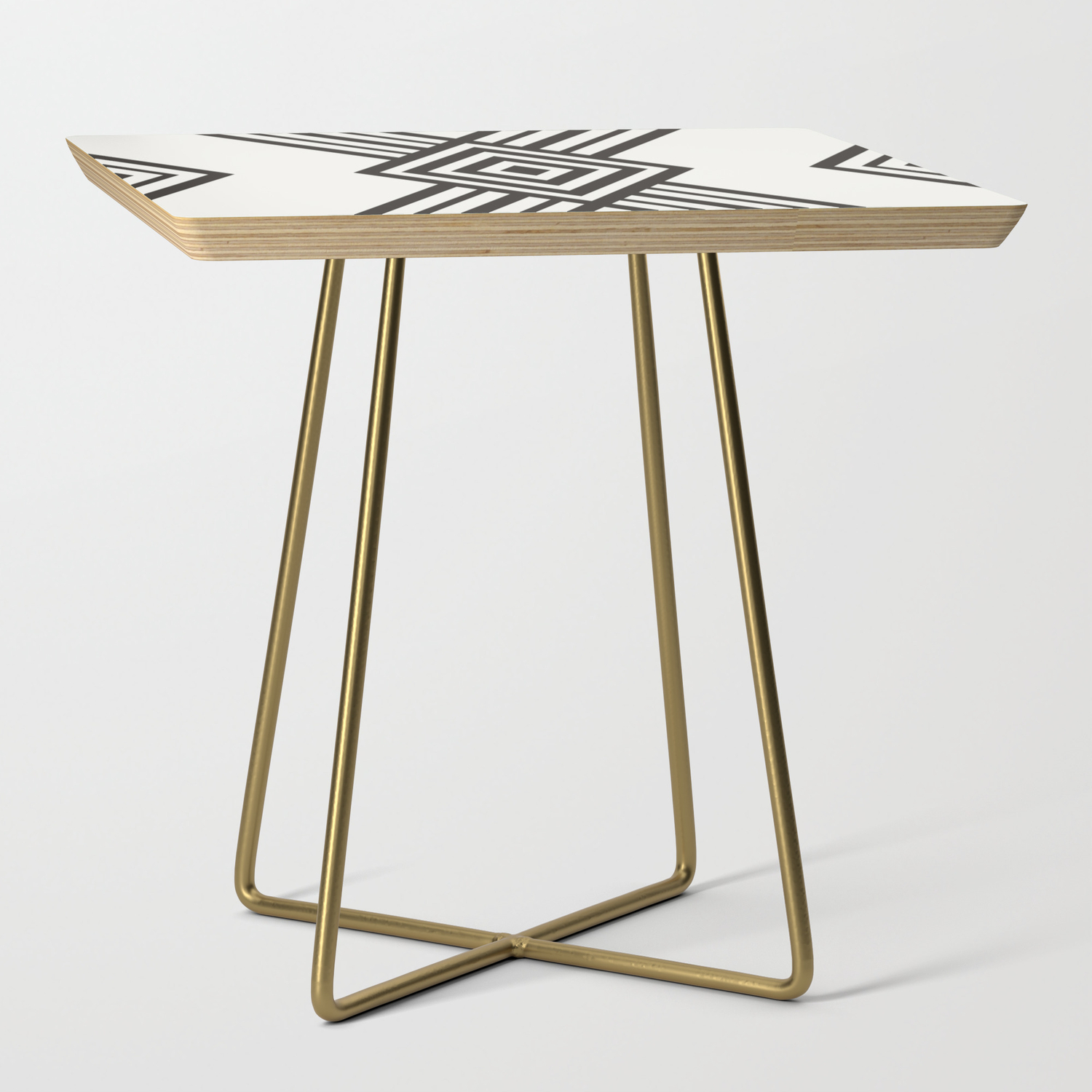20463bf863d8 Art Deco Side Table by poppidesign