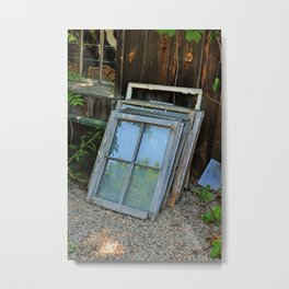 Broken Pieces of Yesterday- vertical Metal Print