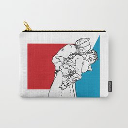 Nauti & Kiss (Kissing the War Goodbye) Carry-All Pouch