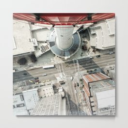 look down from calgary tower Metal Print