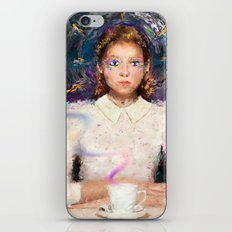 a tea with Alice iPhone & iPod Skin