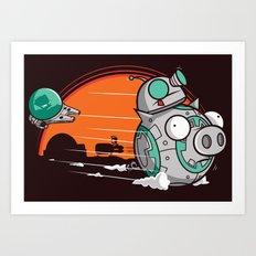 BB-Gir Art Print