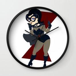 Enter the Widow Wall Clock