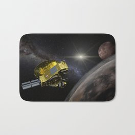 New Horizons space probe - Pluto flyby in action Bath Mat