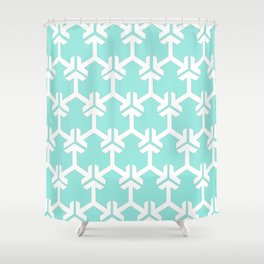 Old Islamic Pattern Shower Curtain