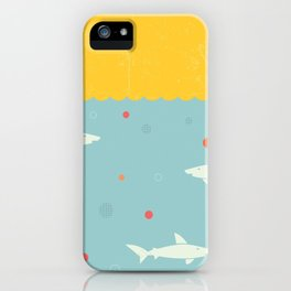 School of Sharks iPhone Case