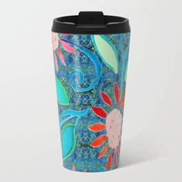 zakiaz ocean of flowers Travel Mug