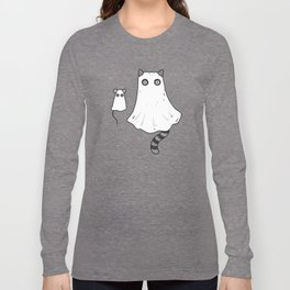 Cat Ghost & Mouse Ghost – Nightmare Long Sleeve T-shirt