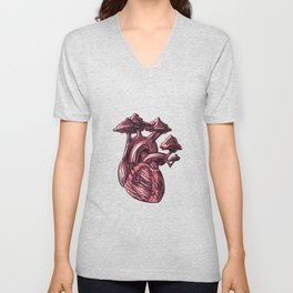 HEART TREE Unisex V-Neck