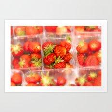 Strawberrys Art Print