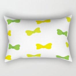 Bow Tie Pattern Rectangular Pillow