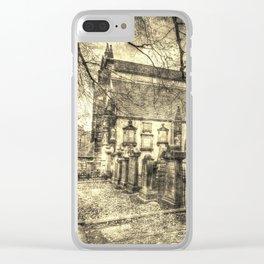 Greyfriars Kirk Edinburgh Vintage Clear iPhone Case