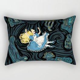 Alice's Fall Rectangular Pillow