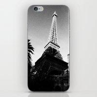 eiffel iPhone & iPod Skins featuring Eiffel by Melynda Nichole