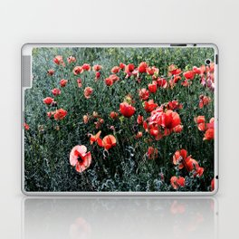 Poppies In A Field Laptop & iPad Skin
