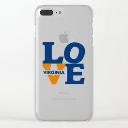 Love Virginia Clear iPhone Case