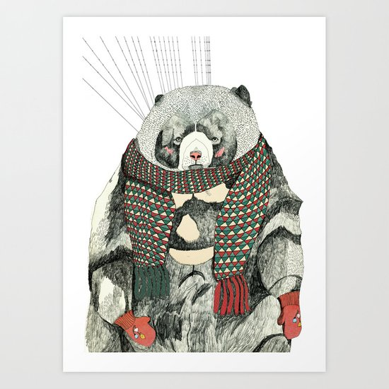 Woolly Bear Art Print