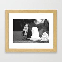 The Gorey House  Framed Art Print