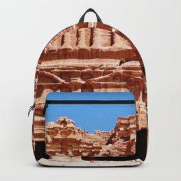 Palace of Petra Nabatean Kingdom Ruins Backpack