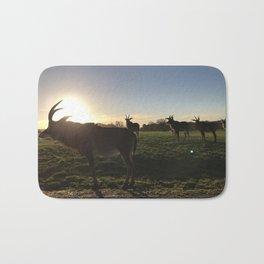Roan Antelope Sunset Bath Mat