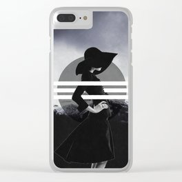 Behind the lines Clear iPhone Case
