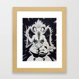 Southern Hibernation Framed Art Print
