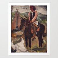 Chief Geronimo Indian Apache Art Print