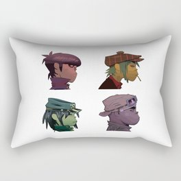 Gorillaz Demon Days Rectangular Pillow