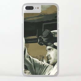 Pinkman Clear iPhone Case