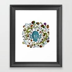 Numéro 13 Framed Art Print