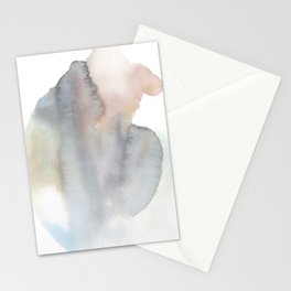 Abstract Watercolor Energy Body 2 Stationery Cards