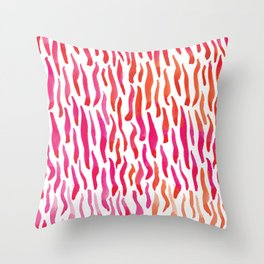 Río Rosado Throw Pillow