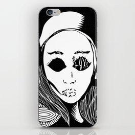 eva natas iPhone Skin