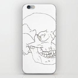 Vamp Skull iPhone Skin