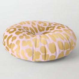 Leopard (Pink & Gold) Floor Pillow