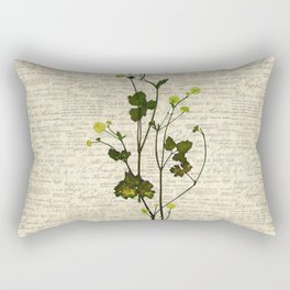 leaves. floral picture for home decor. Abstract Art. Wall art decorative 5 Rectangular Pillow