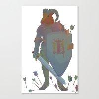 ram Canvas Prints featuring Ram by Jay Raine