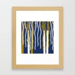 Nirvana garden Framed Art Print