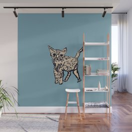 Animal Series: Kitty Curious Wall Mural