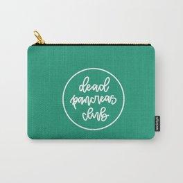 Dead Pancreas Club  - White/Green Carry-All Pouch