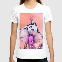 mushroom T-shirts featuring Mushroom by Flannery Rollins