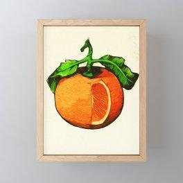 Tangerine Framed Mini Art Print