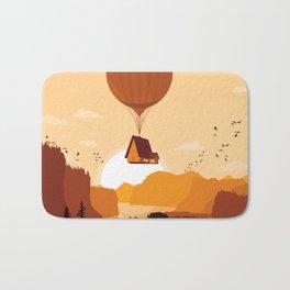 Flying House Bath Mat