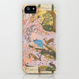 Iranian Art, 17th Century iPhone Case