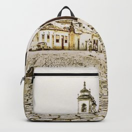 Historical city Backpack