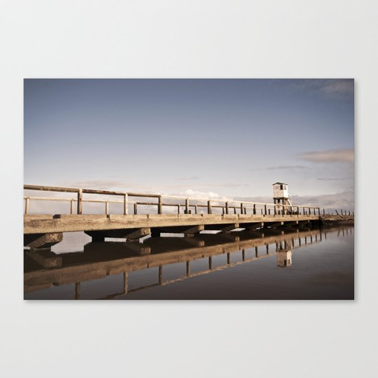 The Holy Island Canvas Print