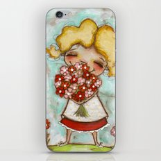 Smells like Spring - by Diane Duda iPhone & iPod Skin