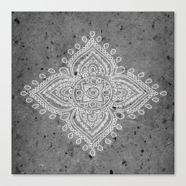 Henna Inspired 5 Canvas Print