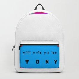 Tony in Cuneiform Script Backpack