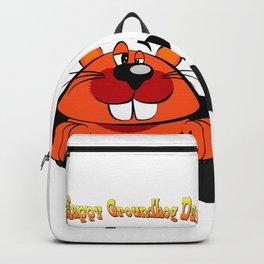 Happy Groundhog Day Backpack